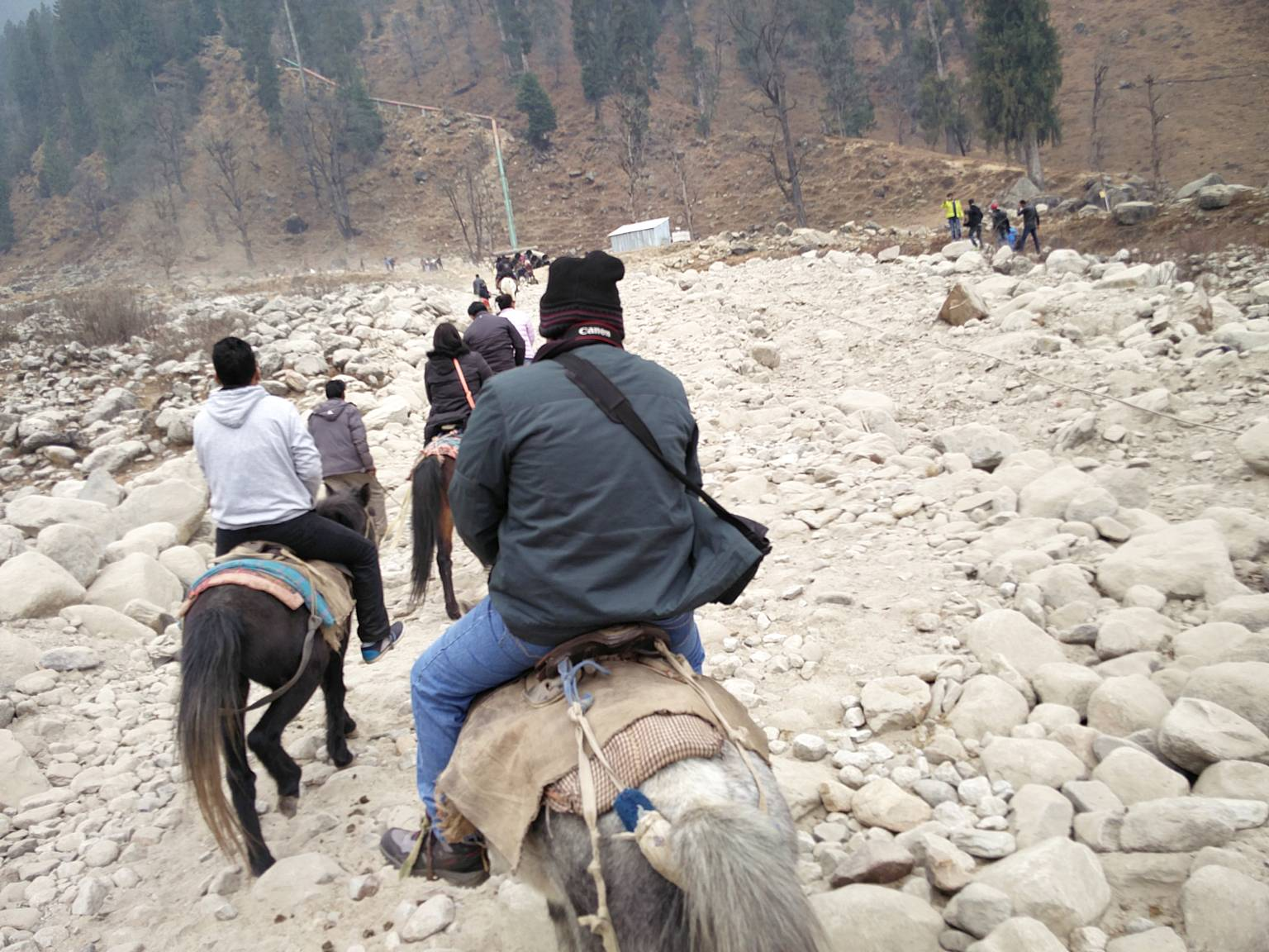 Horse Trekking to Anjani Mahadev