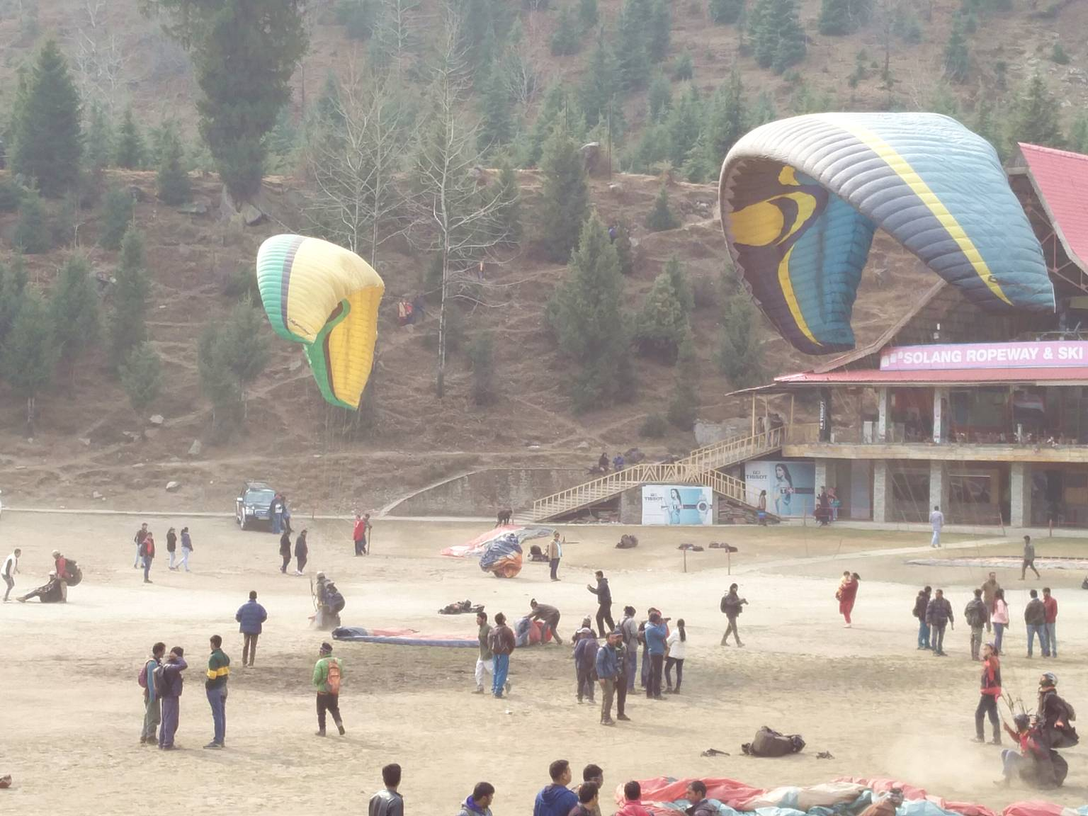 Adventure Sports at Solang Valley