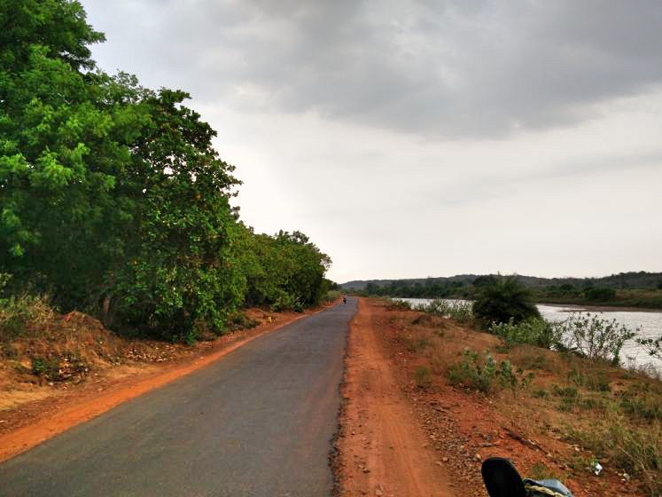Towards Naraj Dam, Cuttack